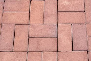 Cushwa Modular Paver* #10 Rose Red